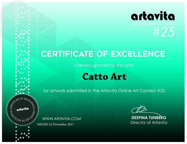 ArtavitaContest25-Certificate-catto art